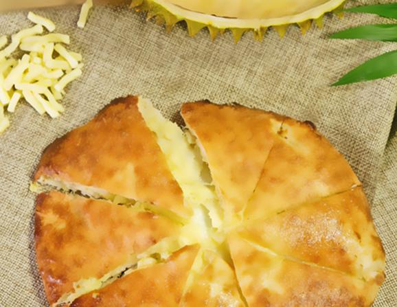 水果芝士香蕉饼