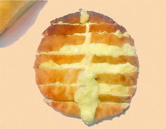 重庆网红芝士香蕉饼