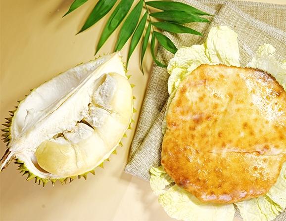 南川丘比特芝士榴莲饼