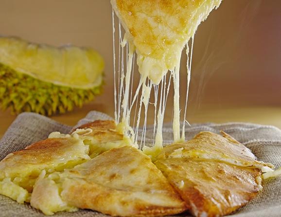 丘比特榴莲芝士饼